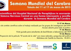 Parapléjicos celebra la 'Semana del Cerebro' para acercar la neurociencia a los ciudadanos