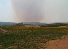 Estabilizado el incendio de Cuenca que fue causado por un rayo
