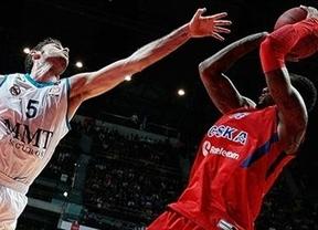 El CSKA somete al Real Madrid que cede el 'basket-average'