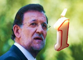 Rajoy: un año de promesas incumplidas, recortes, sombras y luces al final del túnel