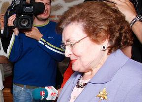 Muchos famosos en el homenaje a la lagarterana Pepita Alía