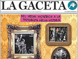 'La Gaceta' pierde definitivamente la cabeza por Bono