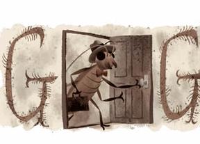 Google homenajea a Kafka con la metamorfosis de su 'doodle'