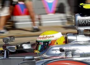 Hamilton se lleva la pole, Maldonado queda segundo y Alonso, tercero