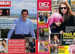 Crónica rosa: José Campos, destrozado, anuncia que Carmen Martínez-Bordiú le ha pedido el divorcio