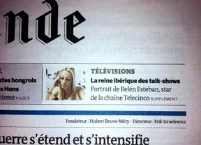 Belén Esteban en portada de Le Monde: de 'Princesa del pueblo' a 'Reina ibérica de los talk shows'