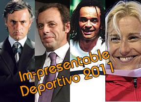 Les presentamos a los finalistas para el Premio Im-presentable Deportivo 2011 ¡Vote!