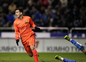Messi vuelve a ser 'Súper': exhibición y triplete frente a un Depor que no opuso casi resistencia (0-4)