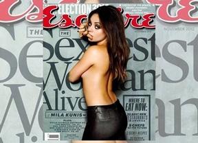 Mila Kunis, la mujer más sexy del mundo, según 'Esquire'