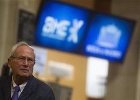 El Ibex abre con una caída del 0,5% y la prima supera los 350 puntos, pendiente de la subasta y del FMI
