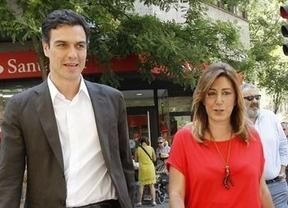 Un 'matrimonio político mal avenido' y un presidente poco bienvenido, 'juntos' en Sevilla