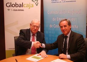 CECAM y Globalcaja firman un convenio para facilitar microcréditos a los empresarios