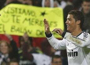 Ronaldo no quiere líos y con su triplete clasifica a un Madrid que sufrió ante el Celta (4-0)