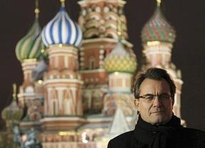 Los derroches de Artur Mas en Rusia