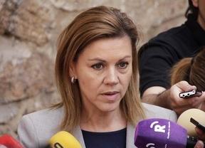 Cospedal sobre Bárcenas: 'Por muchas veces que se repita una mentira no será verdad'