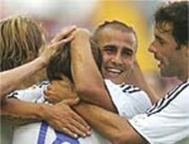 El Madrid se da un festín con Raúl de nuevo en figura: 5-1 al Dinamo de Kiev