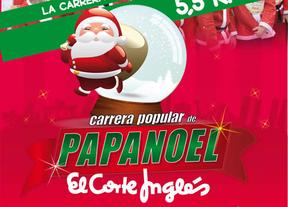 El Corte Inglés patrocina la II Carrera Popular de Papá Noel