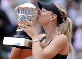 Roland Garros 2012: Sharapova se lleva su primera victoria