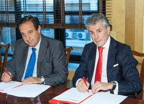 Banco Santander y ASAJA firman un acuerdo en el marco del proyecto 'Compras en Conjunto'