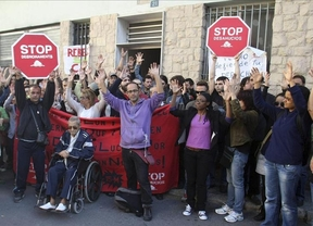 Un hombre se tira por el balcón en Valencia cuando iba a ser desahuciado
