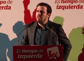 Alberto Garzón insta a IU a renegar de la 'derrota y de la tristeza' en el arranque de su campaña