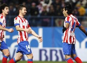 No hay quien pueda, no hay quien pueda... con el Atlético en casa: fácil triunfo ante el Zaragoza (2-0)