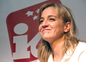 IU sale en defensa de su perla Tania Sánchez y asegura que su candidatura no corre 'ningún peligro'