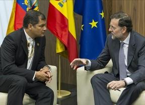 Rafael Correa tampoco ve suficientes las medidas que ha tomado el Gobierno contra los desahucios