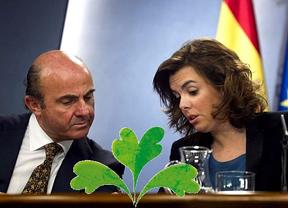 Un día de 'brotes verdecitos' entre tanta tormenta y nubarrón sobre España