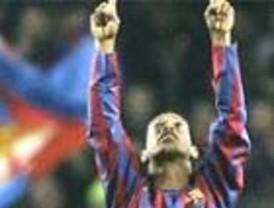 El Barça ganó 4-0 al Villarreal con golazo de Ronaldinho incluido