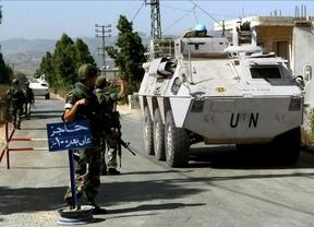 Muere un 'casco azul' español en Líbano por un ataque de Israel