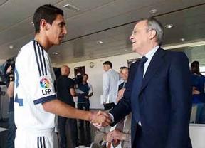Di María deja claro que Florentino Pérez es el culpable de su salida: 'Lamentablemente no soy del gusto futbolístico de alguna persona'.