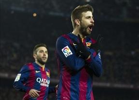 Copa: un Barça con poca puntería en sus disparos deja vivo a un 'submarino' que no descarta remontar en la vuelta (3-1)