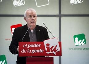 Cayo Lara llama a IU a eludir competir con Podemos en el terreno de la