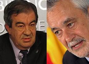 Dos derrotados en las urnas, Griñán y Álvarez-Cascos, seguirán gobernando en Andalucía y Asturias