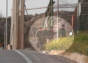 Hecho histórico en Melilla: militares marroquíes entraron para participar en una devolución de inmigrantes