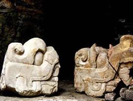 Descubren juego de pelota prehispánico debajo de Palacio Nacional