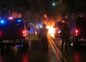 Barcelona, en llamas por tercer día consecutivo por la guerrilla urbana del movimiento 'okupa'
