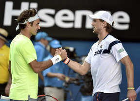 Sorpresa en Australia: Seppi elimina a Federer y despeja el camino a Nadal