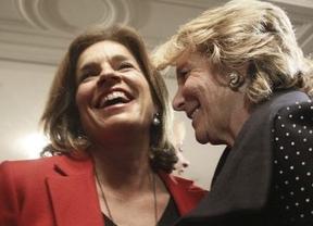 Aguirre juega al despiste: dice que la Alcaldía de Madrid le pilla en un momento en el que ha dado un