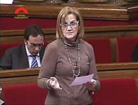 Núria de Gispert ya es la primera presidenta del Parlament catalán