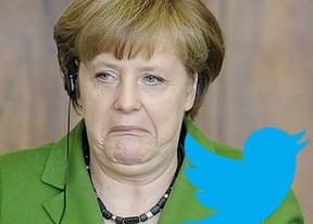 Twitter ya espera a Merkel... para que se lleve a Rajoy