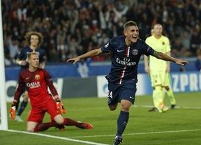 El PSG estoquea al Barça en el superduelo de supermillonarios de la Champions (3-2)