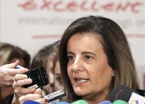 Báñez, tras conocerse los datos del paro en la Unión: 'España lidera la bajada del desempleo en Europa'