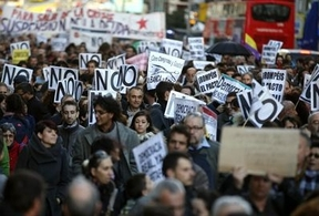 El 25-S reúne pacíficamente a miles de personas en Madrid contra