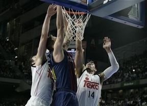 Liga ACB: 'Matador' Carroll, con 26 puntos, clave en la fuerte paliza del Real Madrid a un flojo Barça (91-78)
