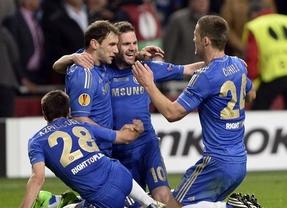 España 'gana' un título continental: el 'Spanish' Chelsea, campeón de la Liga Europa (2-1)