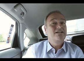 Críticas a Fabra por su vídeo electoral, en el que va en coche sin cinturón