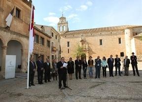 Las Cortes rinden homenaje a sus 30 años de vida en Alarcón (Cuenca)