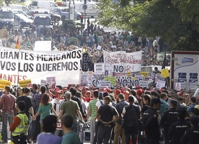 Nueva guerra de cifras: los estudiantes celebran el éxito de la huelga y Wert lo menosprecia